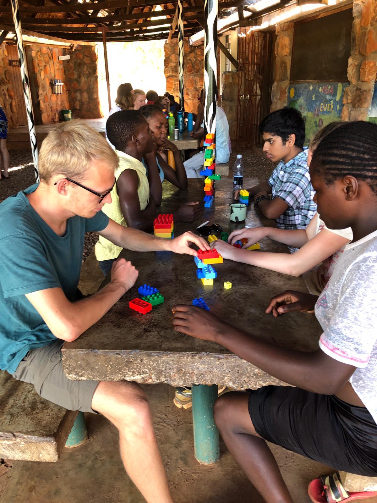 9. klasses studietur til projekt Zambia